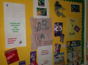 Our Fair Trade Notice Board